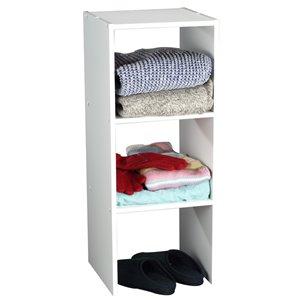 ClosetMaid 31.5-in White Vertical Closet Organizer