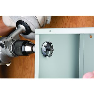 IDEAL 7/8-in Carbide-Tipped Arbored Hole Saw