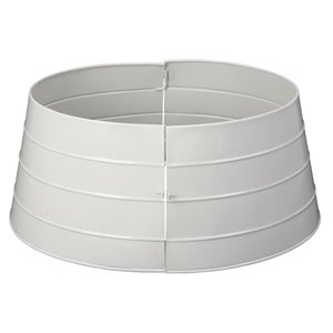 24-in White Christmas Tree Stand Collar | Lowe's Canada