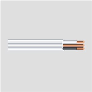 Southwire 14 AWG Indoor Non-Metallic Wire (By-the-Roll)