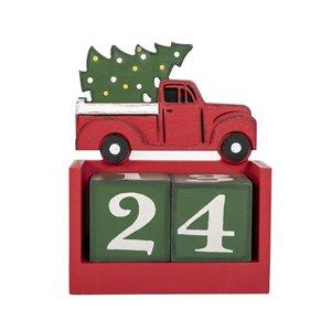 Holiday Living Christmas Calendar Block Set