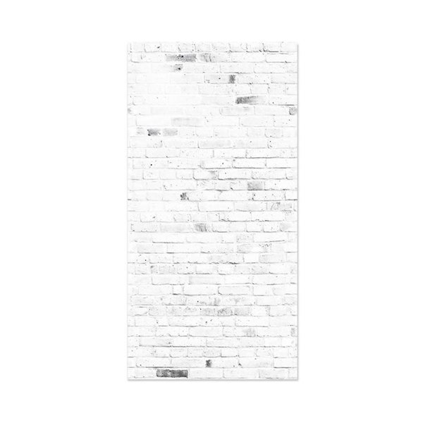 Murdesign 48 In X 8 Ft Smooth Bleached Grey Brick Birch Mdf Wall Panel Lowe S Canada