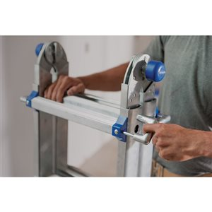 Werner 17-ft Type 1AA - 375 lbs. Capacity Aluminum Multi-Purpose Ladder