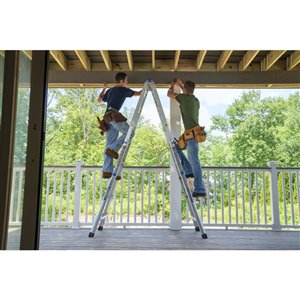 Werner 22-ft Type 1AA - 375 lbs. Capacity Aluminum Multi-Purpose Ladder