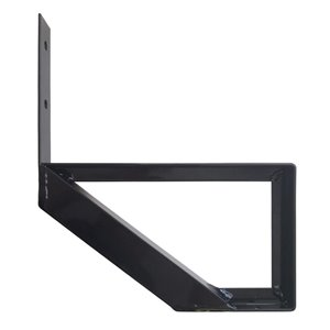Pylex Collection 11 1-Step Aluminum Stair Riser Black- 7-1/2 In. x 10-1/4 In.