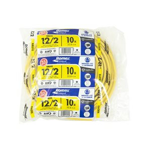 Southwire 12 AWG Indoor Non-Metallic Wire (By-the-Roll)