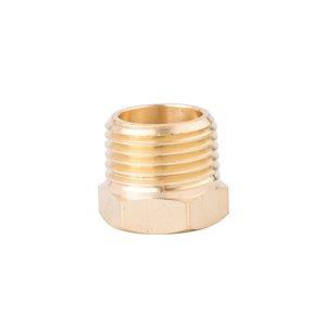 Kobalt NPT Brass Bushing Adapter 1/2-In Male x 1/4-In Female