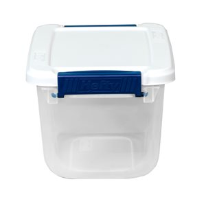 Hefty 6.5-qt Clear Tote with Latching Lid