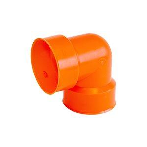 Big 'O' Big 'O' 4-in 90-Degree Orange Elbow Drain Fitting