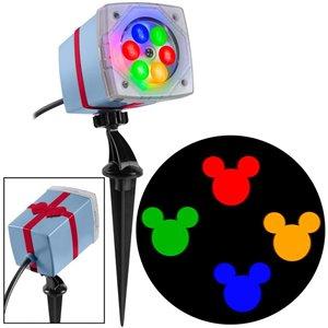 Disney Disney Fantastic Flurry Mickey Mouse Multi-Colour Light Projector