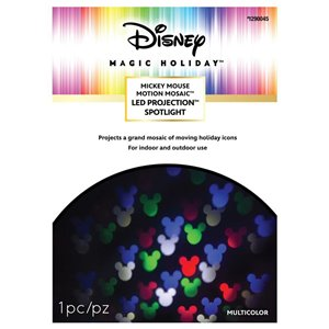 Disney Disney MotionMosaic Mickey and Friends Multi-Colour Light Projector