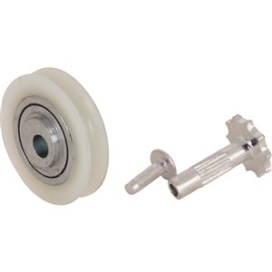 Prime-Line Sliding Patio Door Nylon Ball Bearing Rollers (2-Pack)