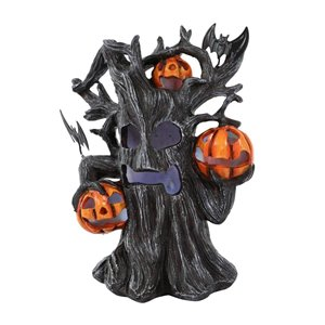 Holiday Living 7-in Halloween Tree Candle Holder