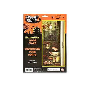 FRIGHT NIGHT 30in x 60in Halloween Door Cover