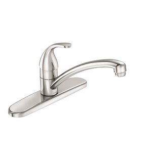 Moen Adler 1Handle Kitchen Faucet, Chrome