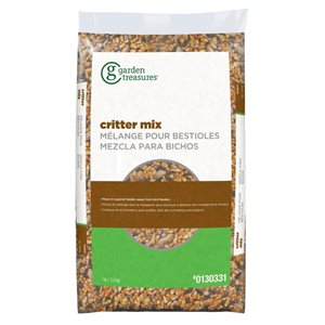 Garden Treasures Critter Food 7-lb Squirrels Seed and Nut Mix Feed