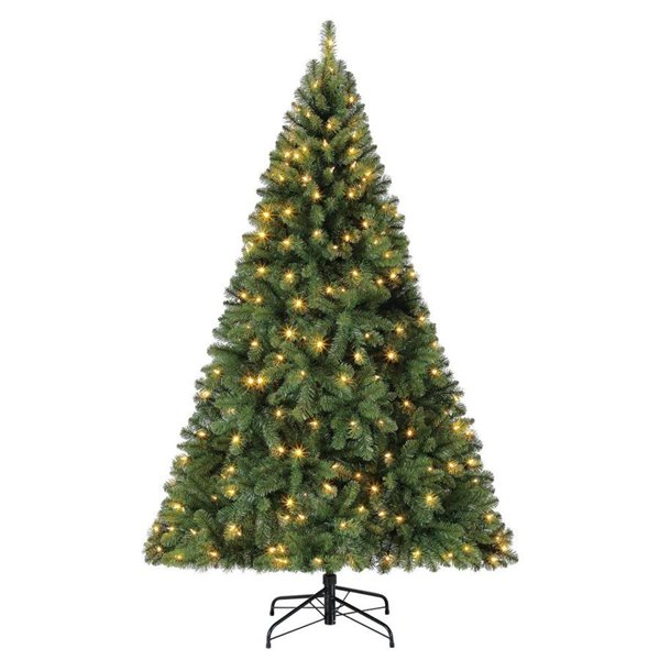 BenefitUSA 5 White Classic Pine Christmas Tree Artificial Realistic Natural Branches-Unlit