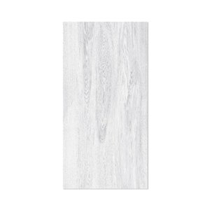 MURdesign 24-in x 4-ft Smooth Bleached Grey Wood Birch MDF Wall Panel