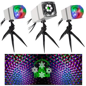 Gemmy Orchestra of Lights - 3 Light Projector System