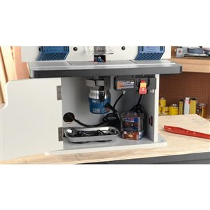 Bosch Benchtop Router Cabinet-Style Table | Lowe's Canada