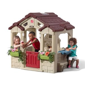 Step2 Charming Cottage Playhouse - 58-in H x 58.75-in W x 50.13-in D