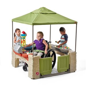Step 2 All Around Playtime Patio with Canopy™ - 4-ft x 4-ft