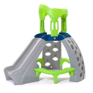 Step2 Castle Top Mountain Climber - Grey and Green - 61-in x 61-in