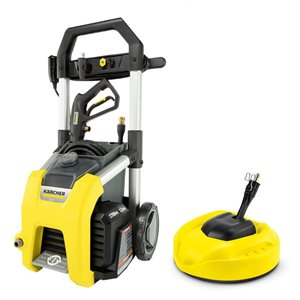 Karcher 1700-PSI 1.2-gal Electric Pressure Washer and 11-in Surface Cleaner