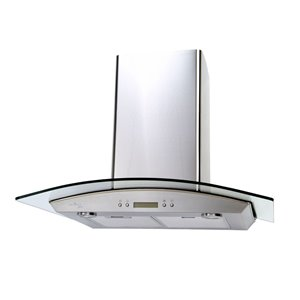 Venmar 30-in 450 CFM Wall-Mounted Range Hood (Stainless Steel)