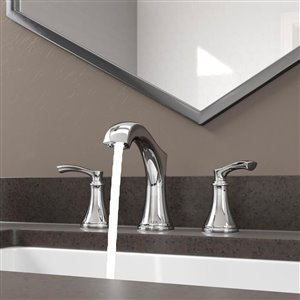 Pfister Auden 2-Handle 8-in Widespread Bathroom Faucet in Polished Chrome