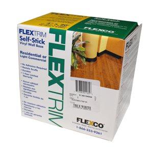 FLEXCO FlexTrim Vinyl Self-Stick Wall Base