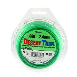 Desert Trim Desert Extrusion SuperTrim SU0805PL-12 Green 50ft x 0.080inch Trimmer Line