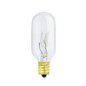 Feit Electric 15-Watt Candelabra Base (E-12) Dimmable Tubular T7 Incandescent Light Bulb (1-Pack)