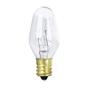 Feit Electric 7-Watt Candelabra Base (E-12) Dimmable C7 Incandescent Light Bulb (4-Pack)