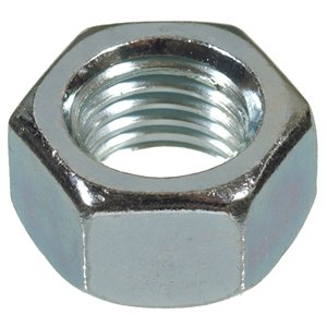 Hillman 5-Count 3/8-in-16 Zinc Plated Standard (SAE) Hex Nuts