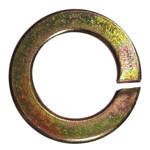 Hillman Yellow Zinc-Plated Steel Standard (SAE) Grade 8 Split Lock Washers