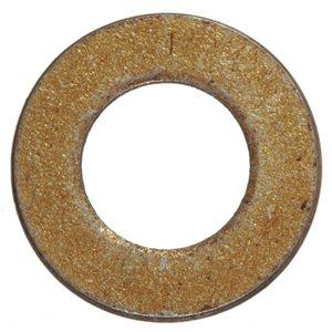 Yellow Zinc-Plated Steel Standard (SAE) Grade 8 Flat Washers