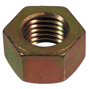 Hillman 1/2-in-13 Yellow Zinc Standard (SAE) Hex Nuts (2-Count)