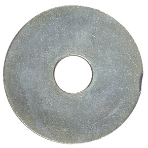 Hillman 1/8-in x 3/4-in Zinc-Plated Standard (SAE) Fender Washers (4-Count)