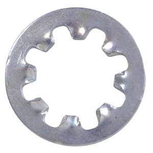 Zinc-Plated Steel Standard (SAE) Internal Tooth Lock Washers