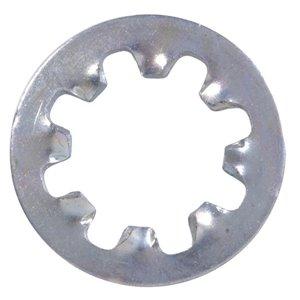 Hillman Zinc-Plated Steel Standard (SAE) Internal Tooth Lock Washers