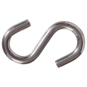 Hillman 2-Pack 3-in Stainless Steel S Hooks