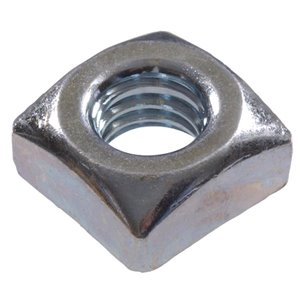 Hillman 3/8-in-16 Zinc Plated Standard (SAE) Square Nuts (4-Count)