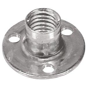 Hillman #10-24 Zinc-Plated Steel Standard (SAE) Brad Hole Tee Nut