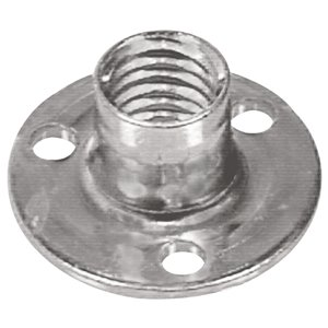 Hillman 1/4-in-20 Zinc-Plated Standard (SAE) Brad Hole Tee Nut