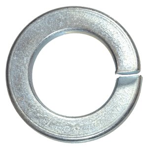 10mm Zinc Plated Steel Metric Split Lock Washers (5-Pack)