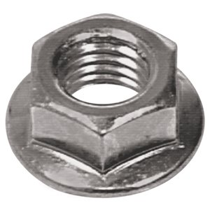 Hillman 2-Count 12mm-1.75 Zinc-Plated Metric Flange Nut