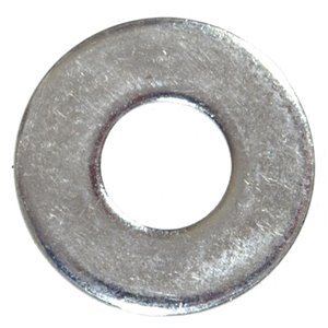 Zinc-Plated Steel Metric Flat Washers (2-Pack)