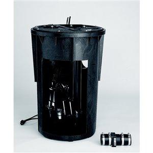Simer 1/2 HP Pre-Plumbed Sewage System