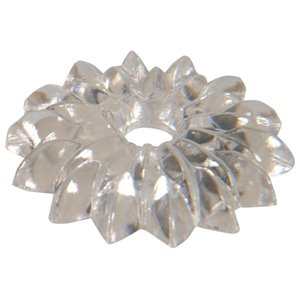 Hillman 2-Pack 1-1/8-in Clear Screw Rosettes